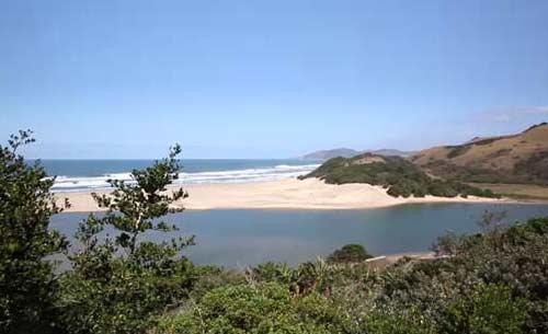 Umngazi river estuary
