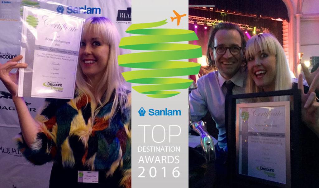 Umngazi win at the Sanlam Top Destination Awards