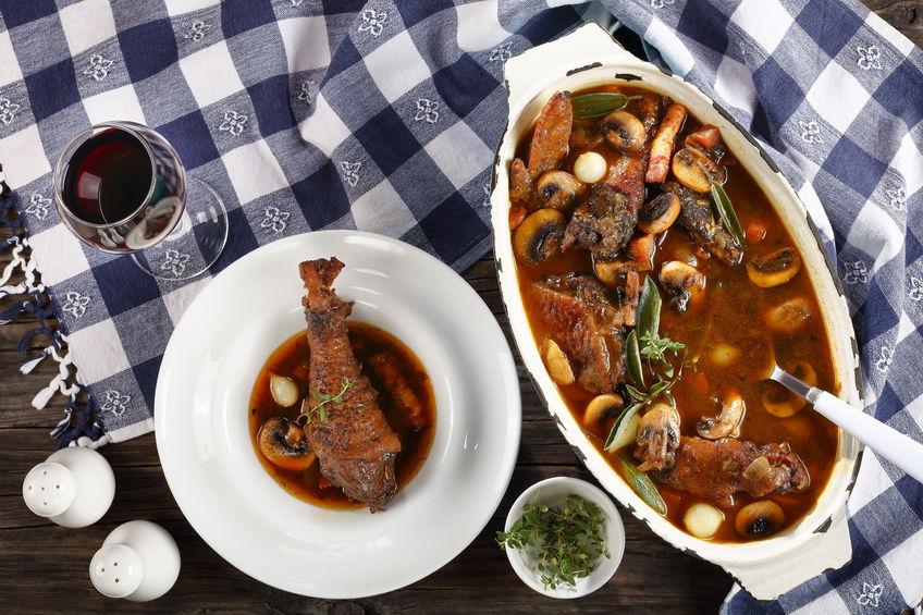 Coq Au Vin – An Umngazi twist on this classic french dish