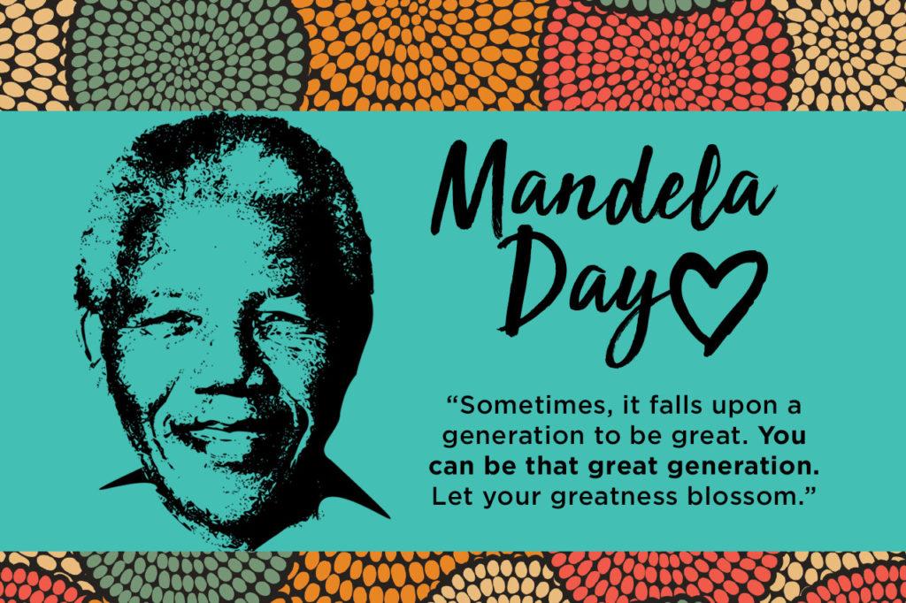 #MandelaDay2018