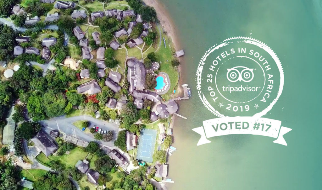 Umngazi voted 17 out of 25 Top Hotels in South Africa