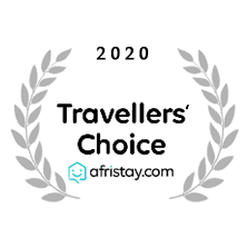 2020 travellers choice award from afristay