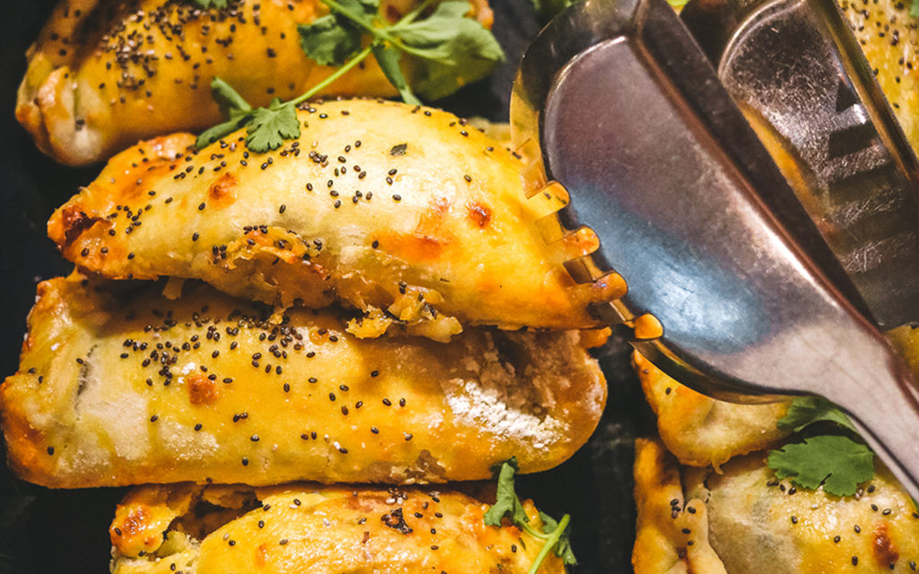 Chicken and mushroom empanadas